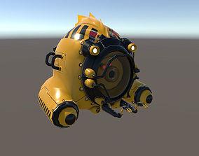 UUV Exploration 3D asset