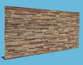 3D model New Brick Wall