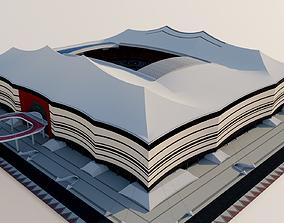3D model Al Bayt Stadium - Al Khor Qatar