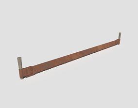 Rusty Saw 3D model