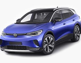 Volkswagen ID4 2021 3D