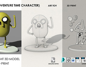 3D printable model Jake Adventure Time Art Toy