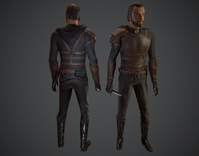 Medieval Thief 3D asset