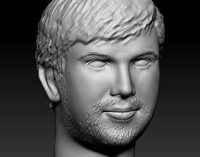 3D printable model Male head 20