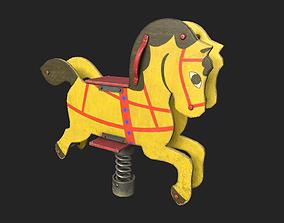 Playground Horse 3D asset