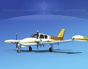 3D Cessna 310 V07