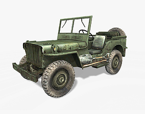 Willys MB Jeep 3D model