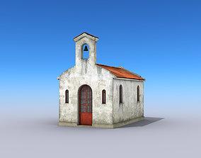 Small Church Building 3D asset
