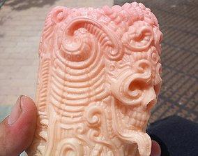 3D printable model Skull Mug
