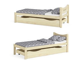 Legenda KM21B with YM02 childrens bed 3D