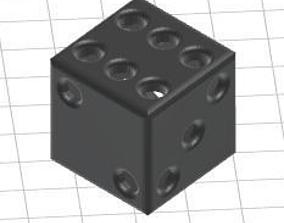 3D print model Hollow Dice