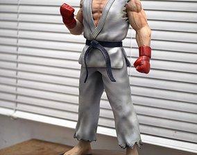 3D printable model Ryu Street Fighter Fan-art