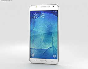 3D Samsung Galaxy J7 White