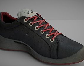 realtime sneaker Shoe low poly 3D model