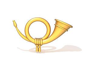 3D Post horn