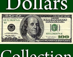 3D model US Paper Money Collection 21 Items