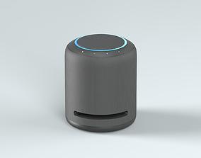 audio 3D model NEW Amazon Echo Studio