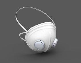 3D model Respirator Mask