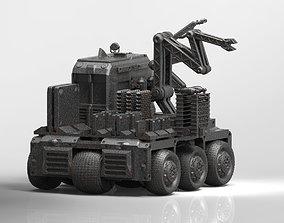 3D printable model OCRV sci fi repair vehicle
