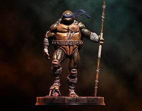 3D printable model Fanart TMNT Donatello Triumphant Statue