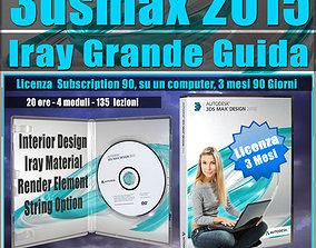 3ds max 2015 Iray La Grande Guida 3 mesi