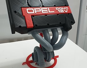 3D printable model Stand C20XE Turbo Engine