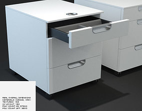 3D Drawer - HPoly and LPoly
