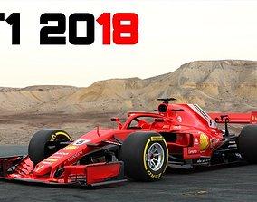 F1 Ferrari SF71H 2018 3D