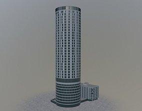 3D model London Vauxhall Gardens