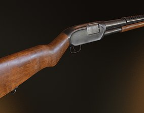 3D model game-ready Winchester M12