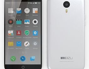 Meizu M1 Note White 3D