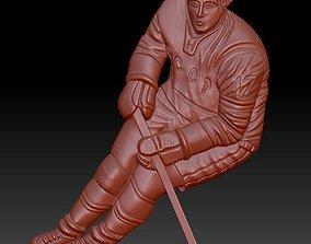 3D printable model Hockey player