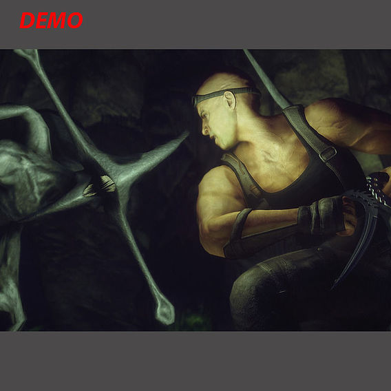 Demo 3d model Vin Diesel