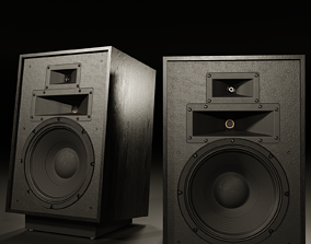 KLIPSCH Heresy IV Floorstanding Speaker with Stand 3D