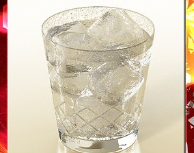 High Detailed Glass 7 3D model