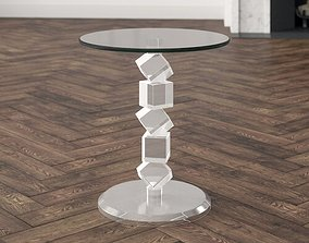3D On The Rocks End Table
