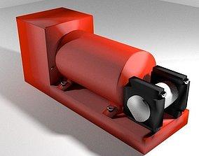 Black Box Flight Data Recorder 3D
