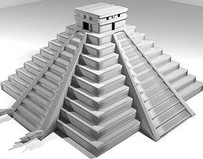 3D Pyramid of El Castillo