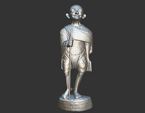 Wooden Gandhi 3DP