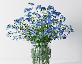 floral Myosotis 3D
