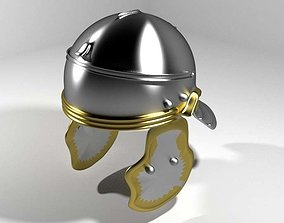 Ancient Combat Helmet - Imperial Gallic 3D