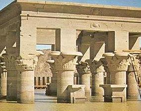 3D model museum Egyptian Temple of Phila