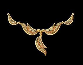Light necklace 3D print model printing