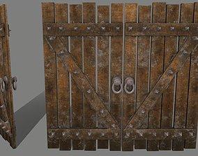 medievaldoor Medieval Door 3D asset VR / AR ready