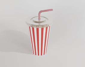 disposable drinking cap 3D
