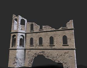 Medieval ruin 3D model
