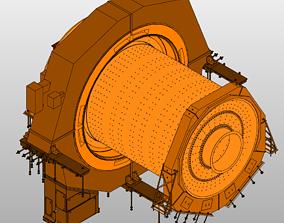 3D BallMill-Polysius 7-9m dia x 12-4m