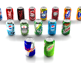 3D 15 Cans Pack