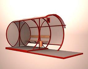 canopy 3D Bus stop
