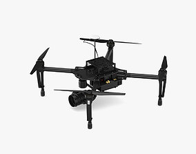 DJI Matrice 100 Quadcopter 3D model